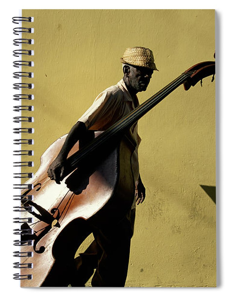 One Man Only Spiral Notebook featuring the photograph Santiago De Cuba, Cuba by Buena Vista Images