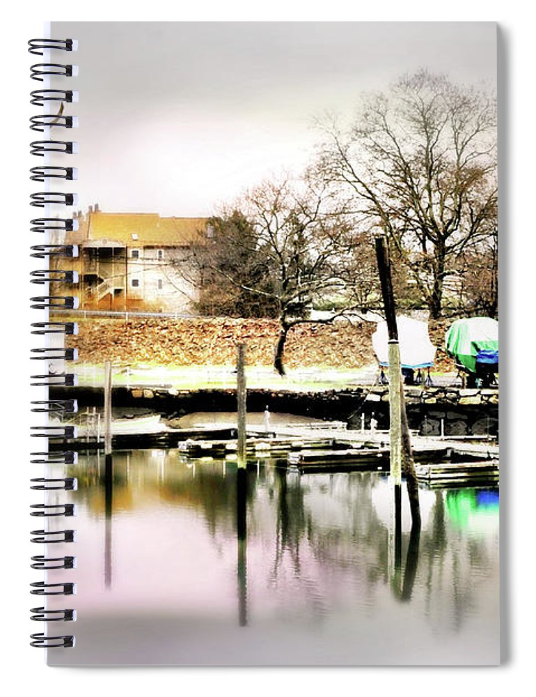 Short Cut Spiral Notebook featuring the photograph Short Cut by Diana Angstadt