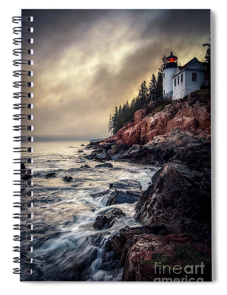 Bass Harbor Spiral Notebook featuring the photograph Still The Same by Scott Thorp