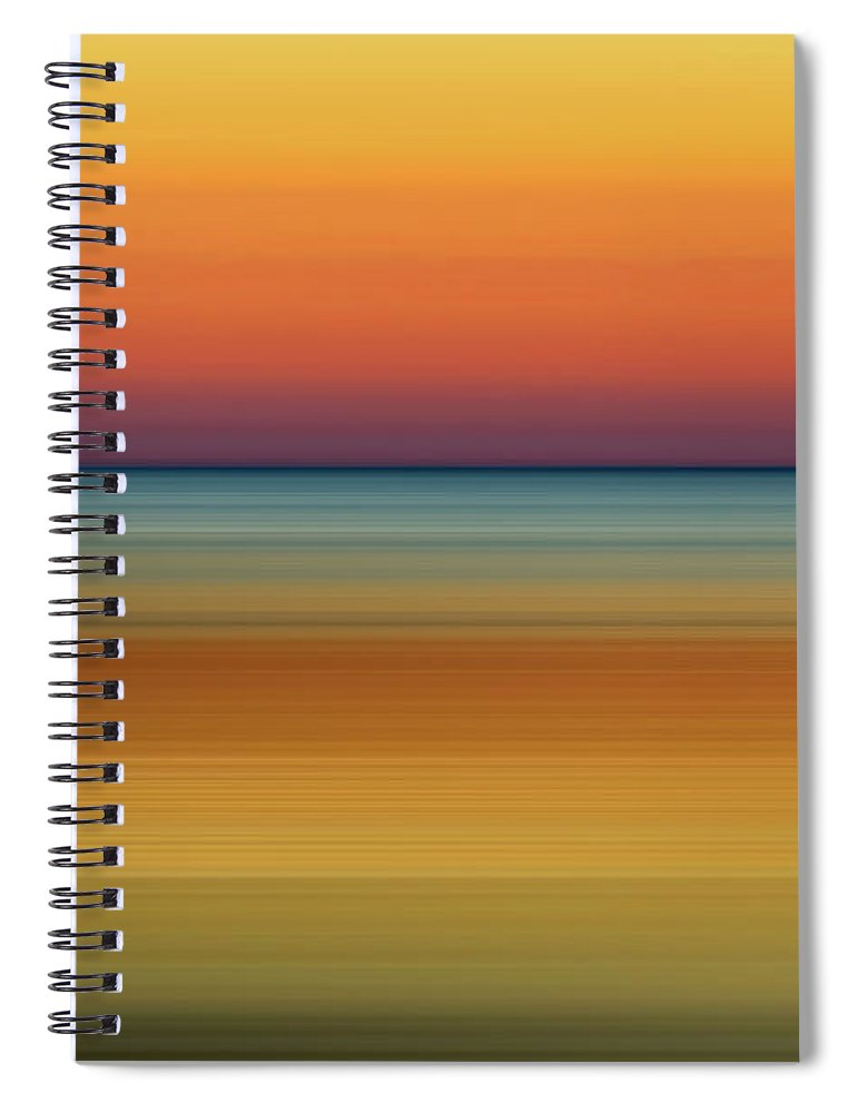 Sunrise Spiral Notebook featuring the photograph Sunrise 3 by Scott Norris