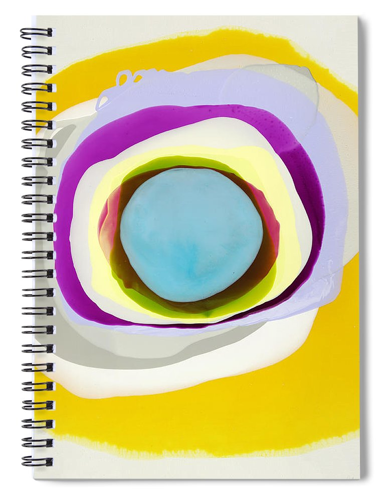 Abstract Spiral Notebook featuring the photograph Tranquil by Claire Desjardins
