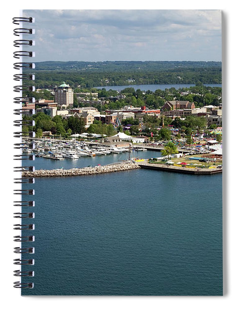 Lake Michigan Spiral Notebook featuring the photograph Traverse City, Michigan by Ct757fan
