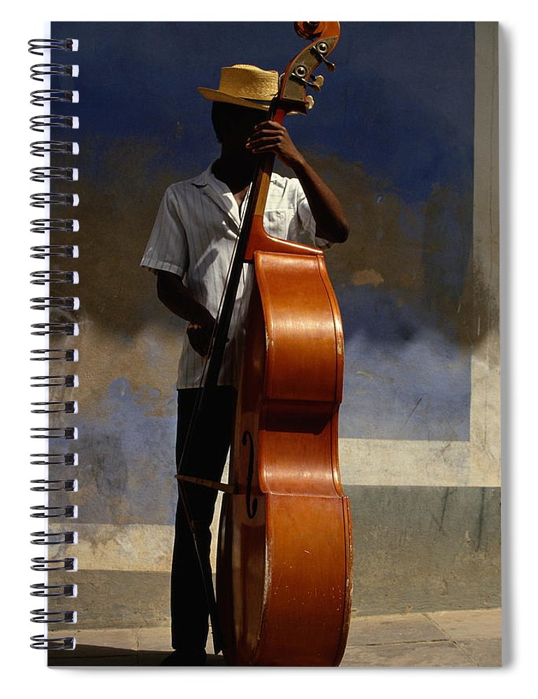 Straw Hat Spiral Notebook featuring the photograph Trinidad In Cuba by Buena Vista Images