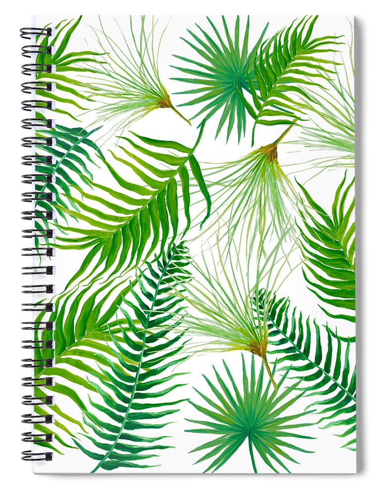 Tropical Leaves And Ferns Spiral Notebook For Sale By Jan Matson Choose from 600+ tropical leaves graphic resources and download in the form of png, eps, ai or psd. tropical leaves and ferns spiral notebook