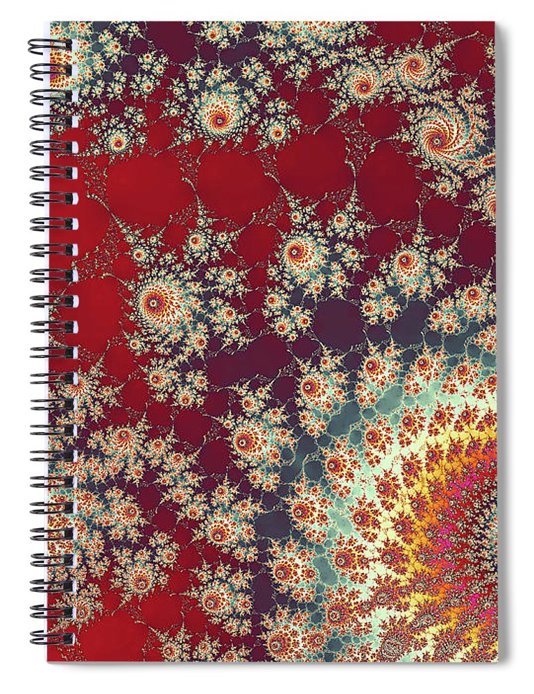 Art Spiral Notebook featuring the digital art Unity by Ester McGuire