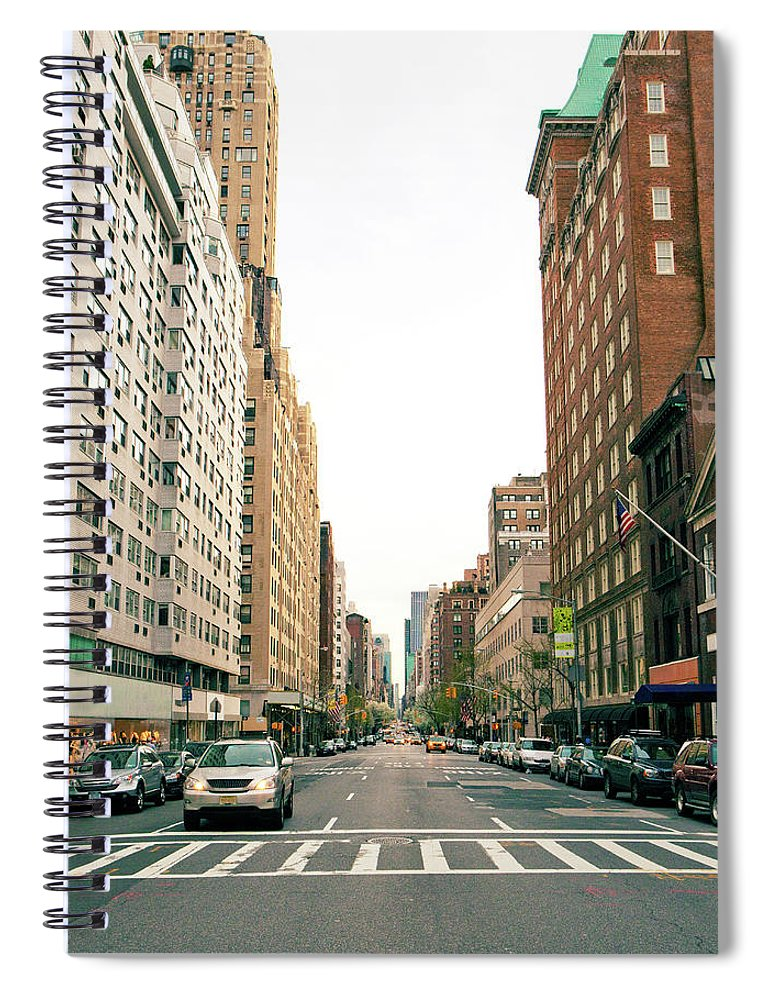 Outdoors Spiral Notebook featuring the photograph Upper East Side, New York City by William Andrew