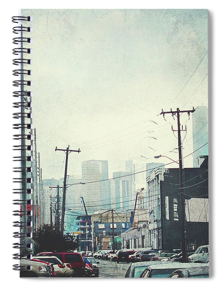Tranquility Spiral Notebook featuring the photograph Urban Alley by Lyne Nagele