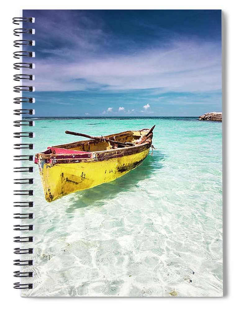 Tranquility Spiral Notebook featuring the photograph Vacation by David Neil Madden