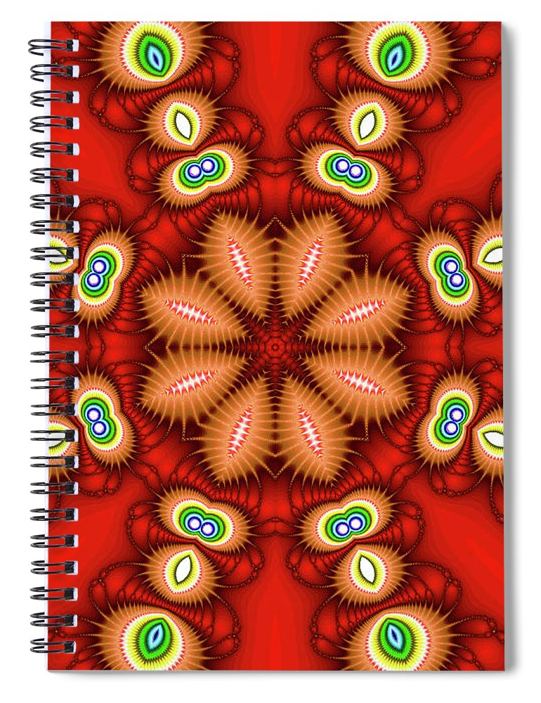 Art Spiral Notebook featuring the photograph Watcher's Eyes by Ester McGuire