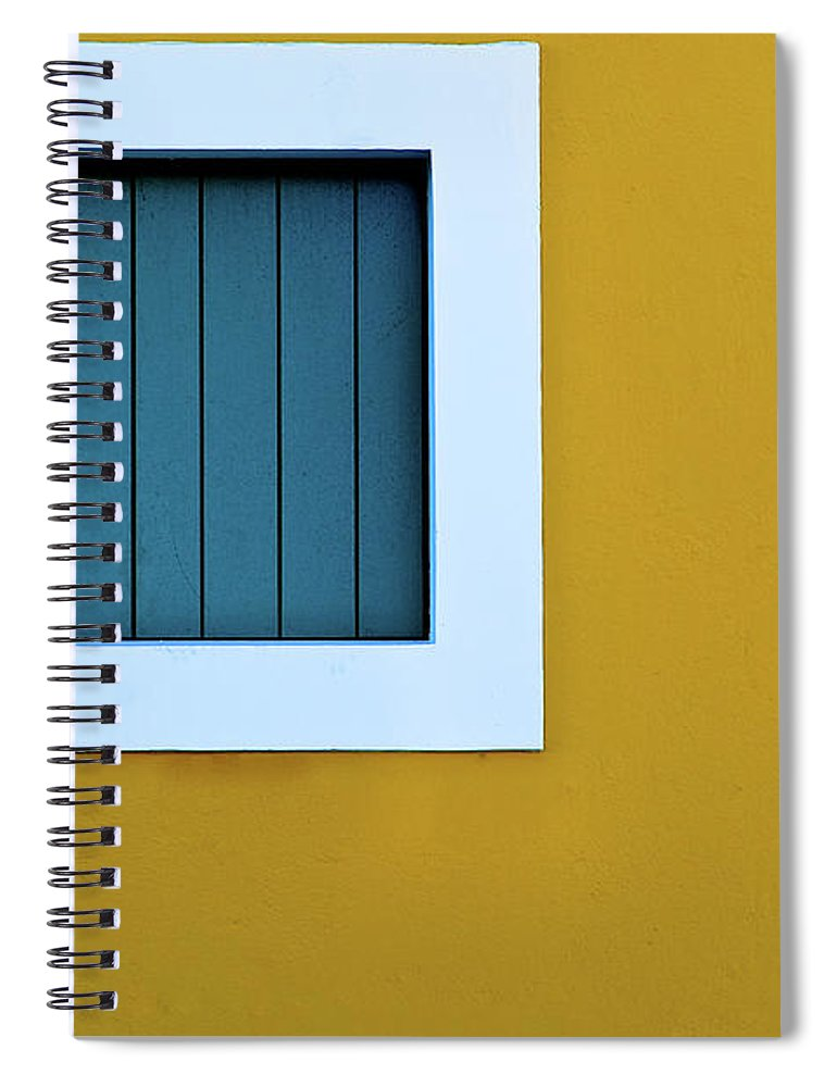 Outdoors Spiral Notebook featuring the photograph Window by L F Ramos-reyes