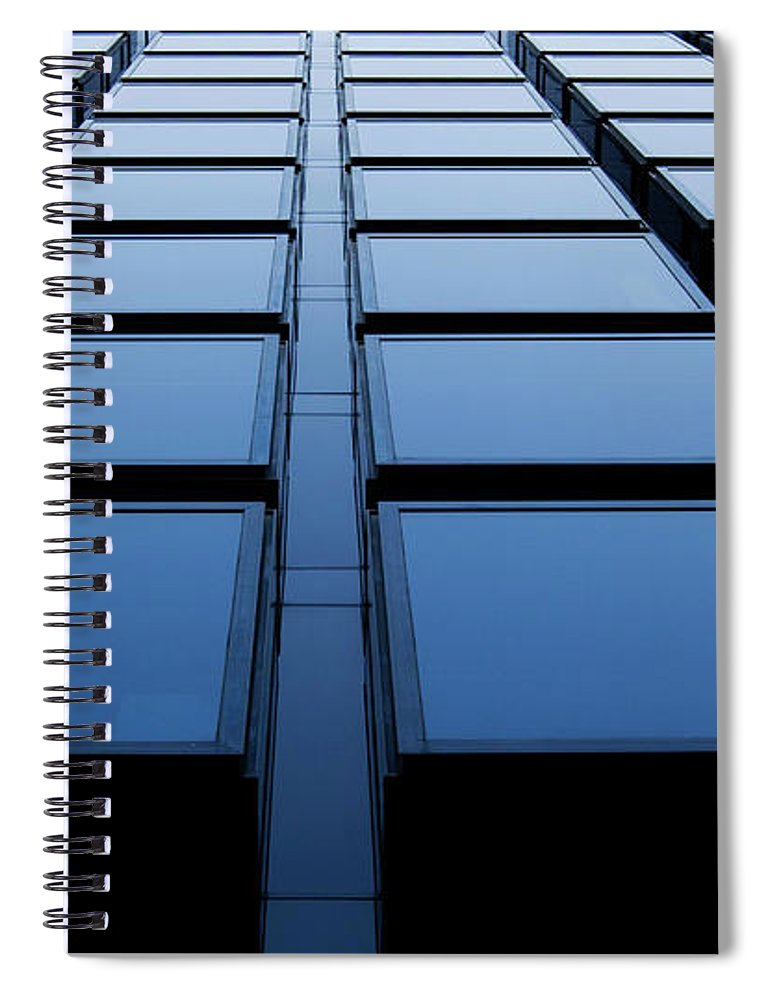 Corporate Business Spiral Notebook featuring the photograph Windows by Xavierarnau