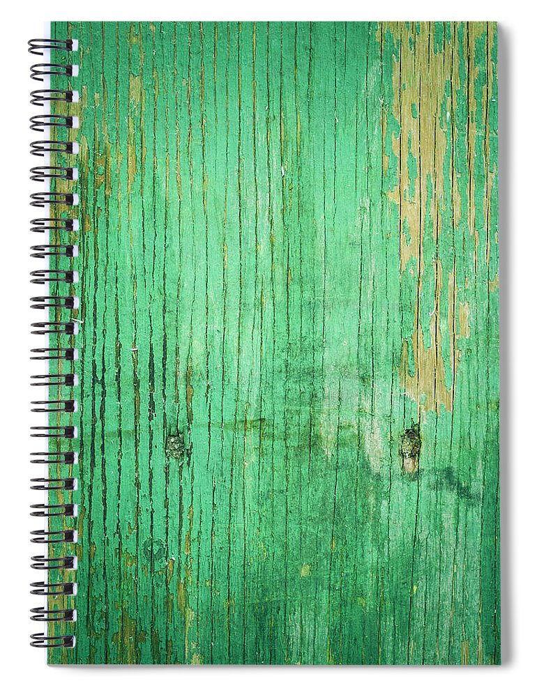 Unhygienic Spiral Notebook featuring the photograph Wooden Texture by Thepalmer
