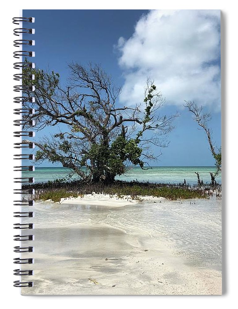 Key West Florida Waters Spiral Notebook featuring the photograph Key West Waters by Ashley Turner