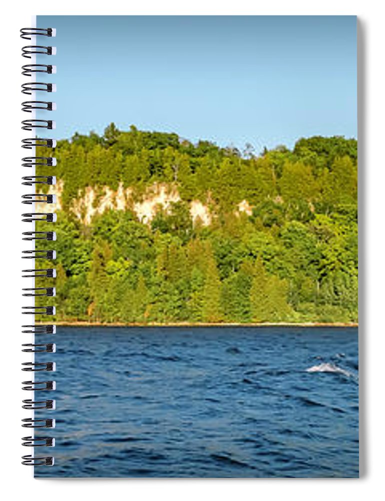 Eagle Spiral Notebook featuring the photograph 20-0608-0121 by Anthony Roma