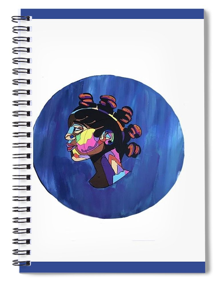 Painting Spiral Notebook featuring the painting Amazing by Gracee Johnson