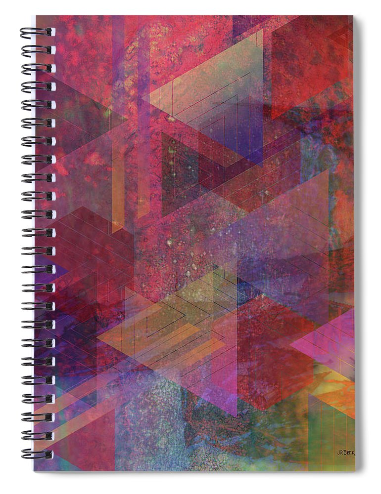 Another Place Spiral Notebook featuring the digital art Another Place by John Robert Beck