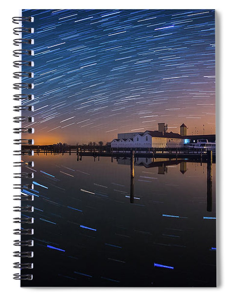 Austria Spiral Notebook featuring the photograph Beyond Us by Jerzy Bin