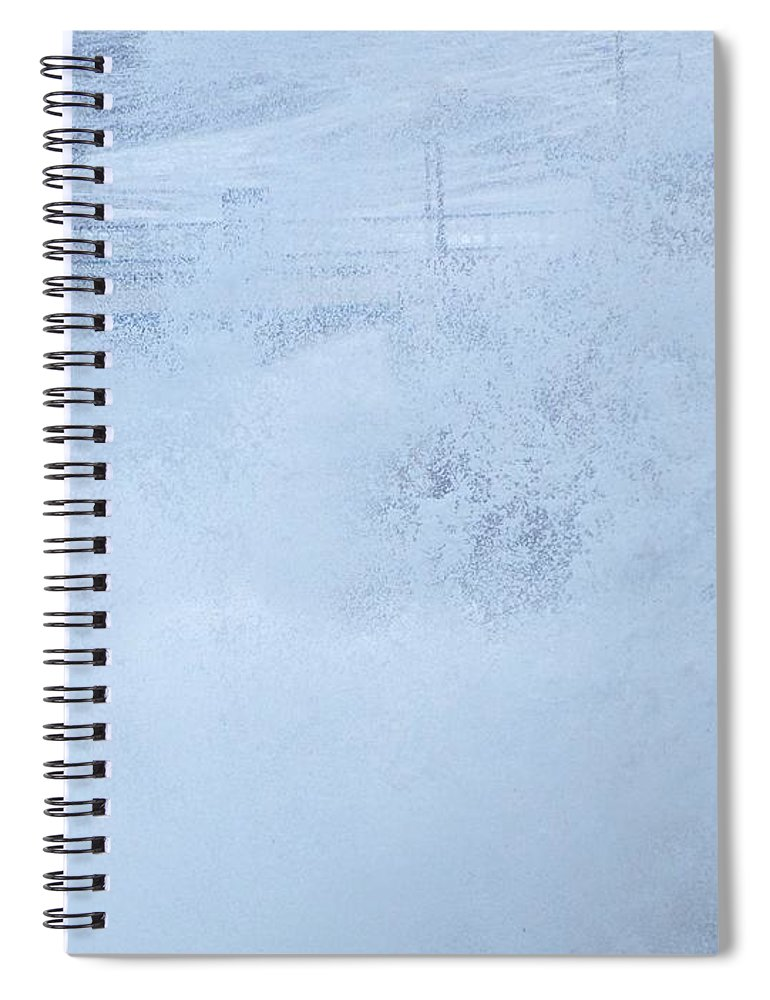 Waves Spiral Notebook featuring the photograph Close one by Christopher Rowlands
