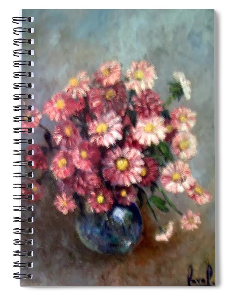 Spiral Notebook featuring the painting Early Paint by Carol P Kingsley