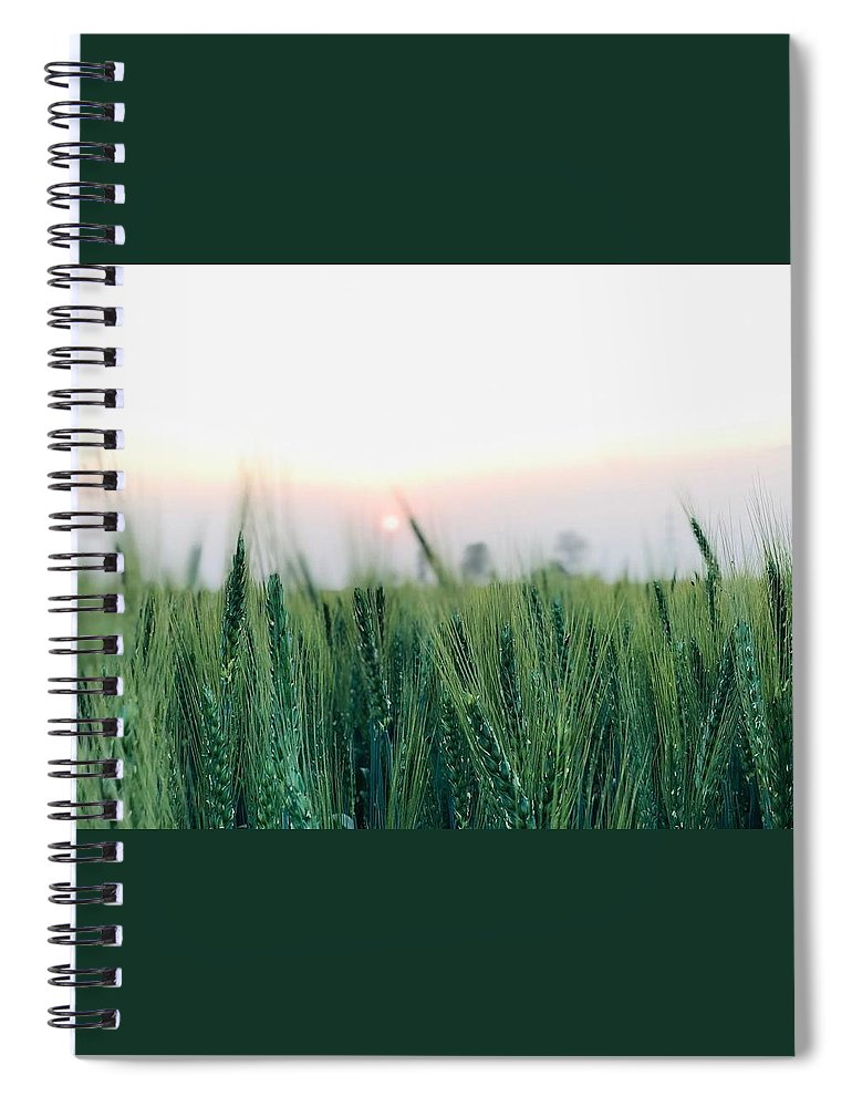 Lanscape Spiral Notebook featuring the photograph Greenery by Prashant Dalal