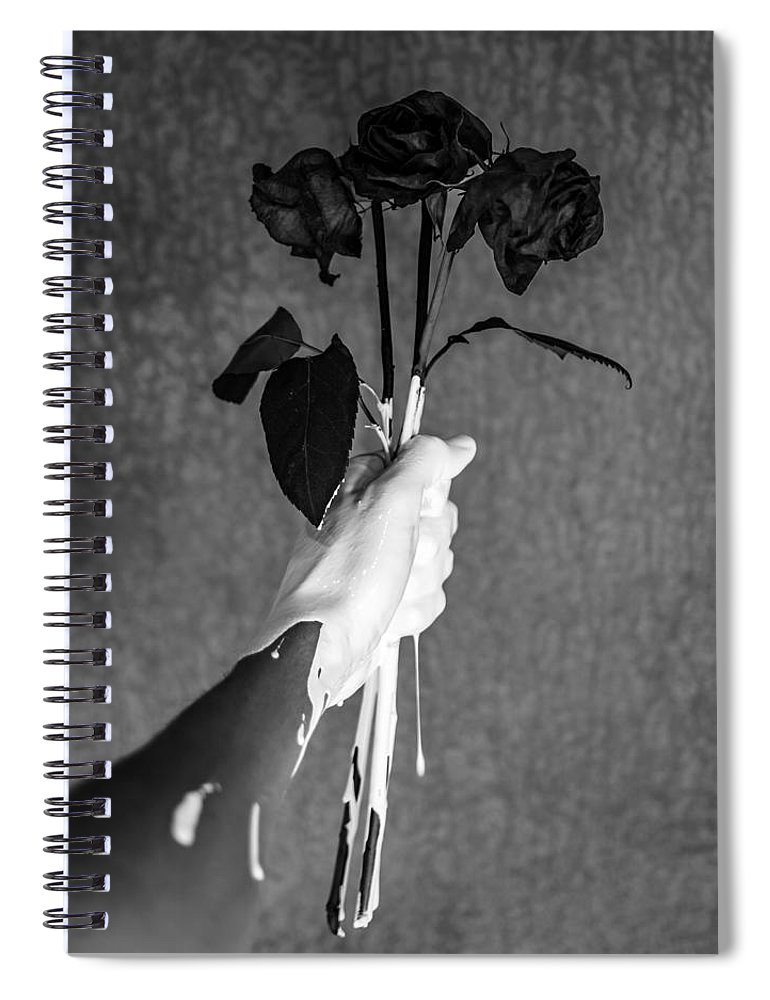 Flowers Spiral Notebook featuring the photograph Moment by Brendan North