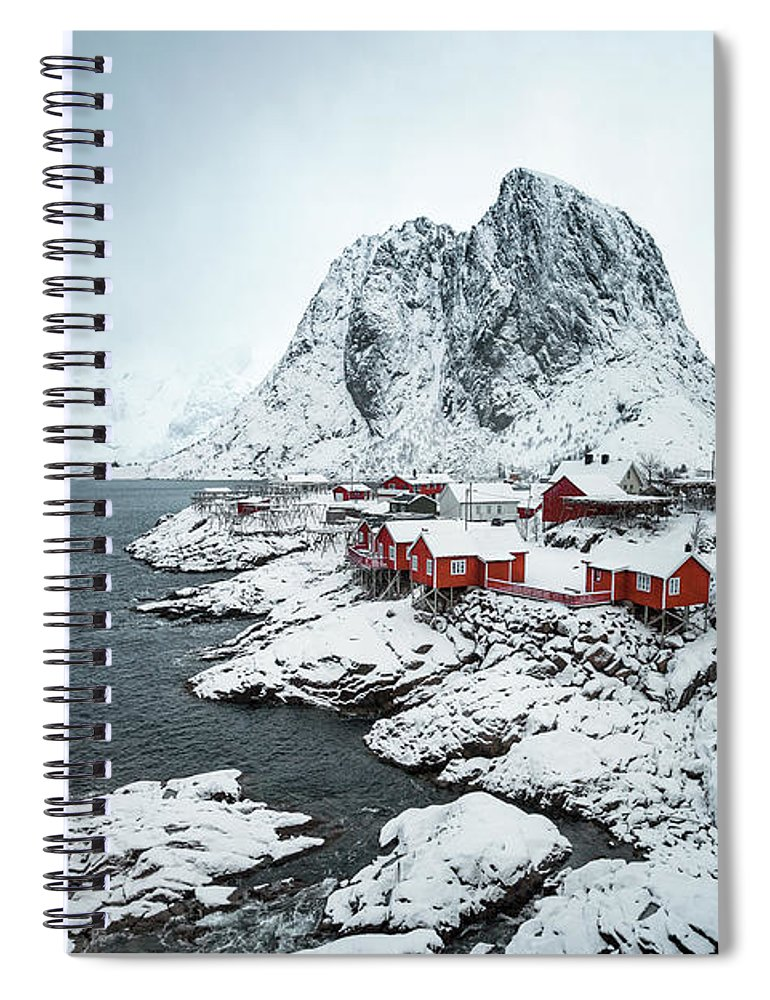 Kremsdorf Spiral Notebook featuring the photograph My Happy Place by Evelina Kremsdorf
