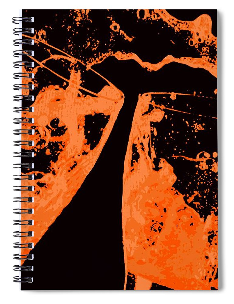 Splash Spiral Notebook featuring the painting Saturday Suds by Jack Bunds