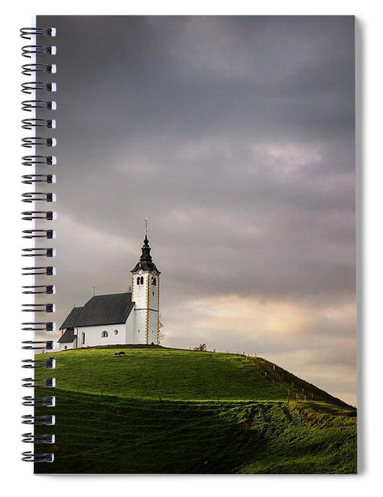 Kremsdorf Spiral Notebook featuring the photograph The Awakened Spirit by Evelina Kremsdorf