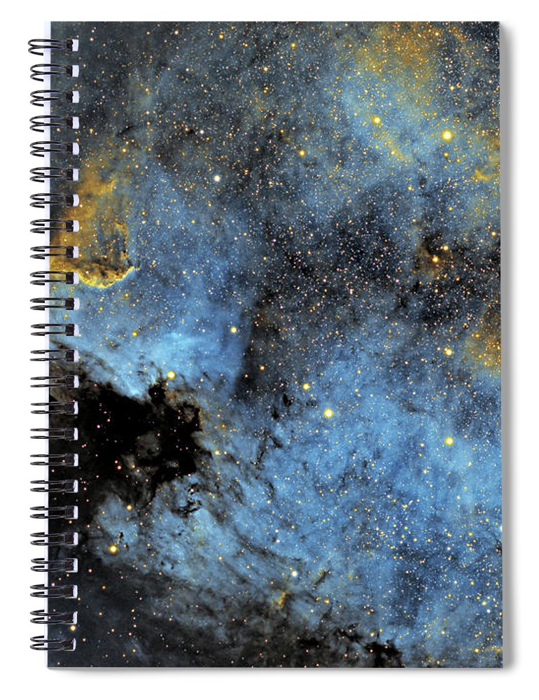 Nebula Spiral Notebook featuring the photograph The North America Nebula by Prabhu Astrophotography