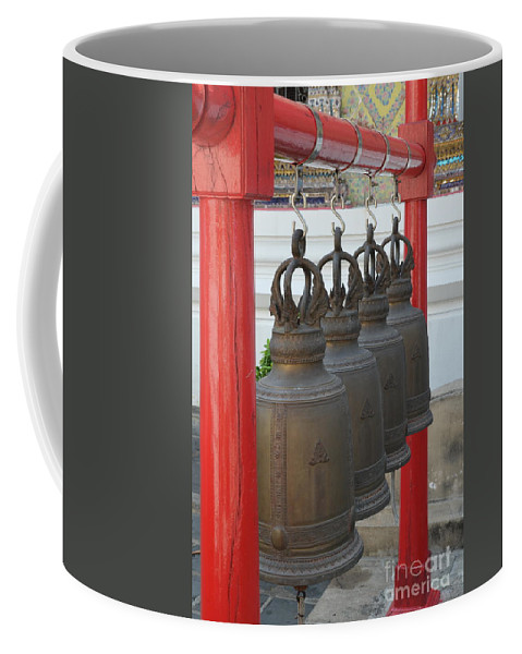 Michelle Meenawong Coffee Mug featuring the photograph Bells by Michelle Meenawong