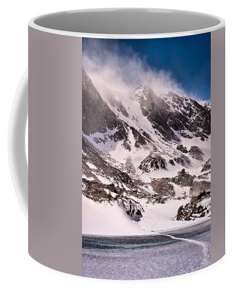 Landscape Coffee Mug featuring the photograph Glass Lake by Steven Reed