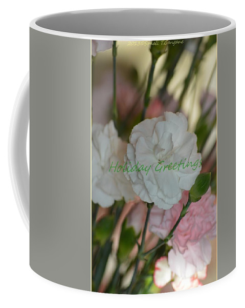 Posters Coffee Mug featuring the photograph Holiday Greeting Card by Sonali Gangane