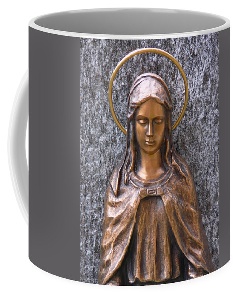 Mary Coffee Mug featuring the photograph Mary Daughter Of Joachim by Movie Poster Prints