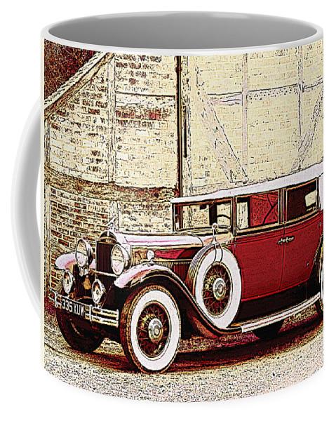 Car Coffee Mug featuring the photograph Packard Standard Eight Convertible by Lyriel Lyra