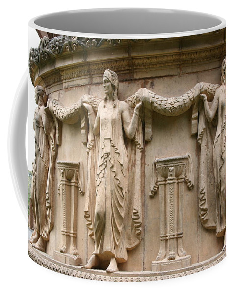 San Francisco Coffee Mug featuring the photograph Palace Of Fine Art Relief by Christiane Schulze Art And Photography