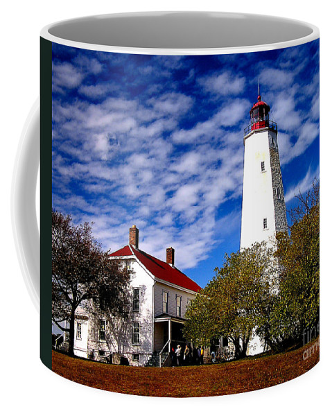 Lighthouse Coffee Mug featuring the photograph Sandy Hook Light by Nick Zelinsky