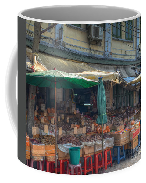 Michelle Meenawong Coffee Mug featuring the photograph Seafood Shop by Michelle Meenawong