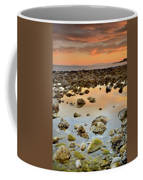Seascape Coffee Mug featuring the photograph Spain Africa And Gibraltar In One Shot by Guido Montanes Castillo