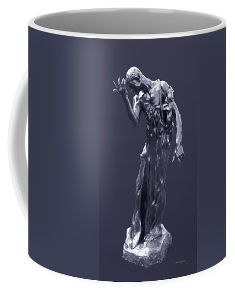 1889 Coffee Mug featuring the photograph The Sculpture Of Auguste Rodin by Xueling Zou