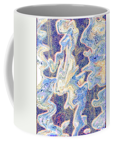 Abstract Coffee Mug featuring the digital art 0114 Abstract Thought by Chowdary V Arikatla