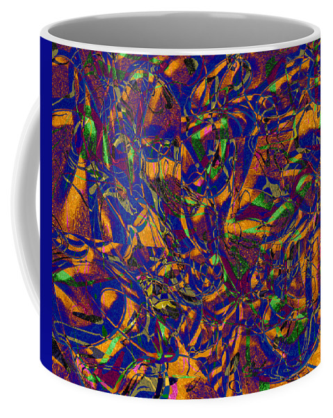 Abstract Coffee Mug featuring the digital art 0630 Abstract Thought by Chowdary V Arikatla
