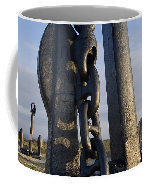 Anchor Coffee Mug featuring the photograph 080710p081 by Arterra Picture Library