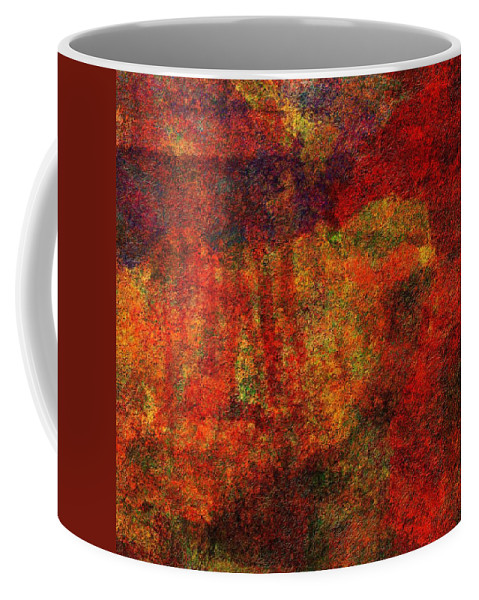 Abstract Coffee Mug featuring the digital art 0911 Abstract Thought by Chowdary V Arikatla
