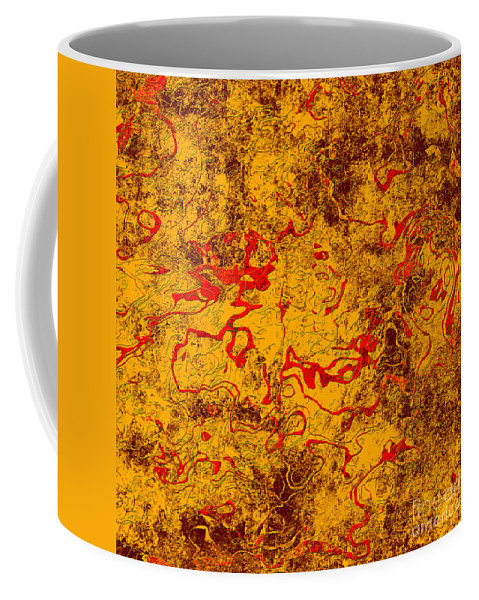 Abstract Coffee Mug featuring the digital art 0503 Abstract Thought by Chowdary V Arikatla
