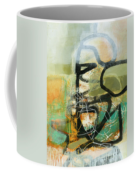Painting Coffee Mug featuring the painting 1/100 by Jane Davies