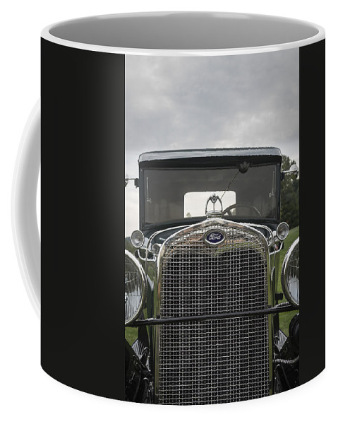 Antique Coffee Mug featuring the photograph 1930 Ford Model A by Jack R Perry