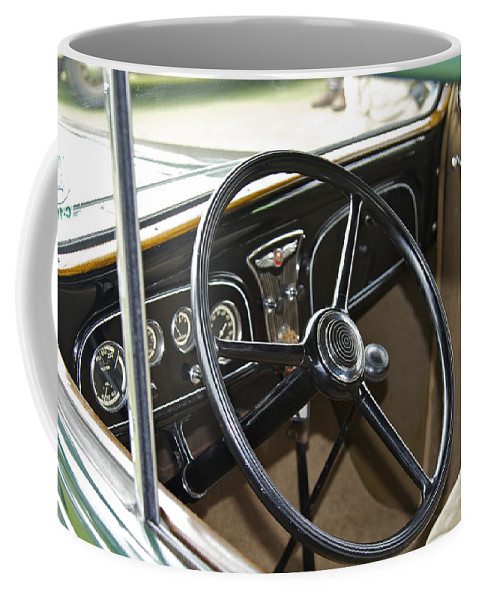 Antique Coffee Mug featuring the photograph 1933 Pontiac by Jack R Perry