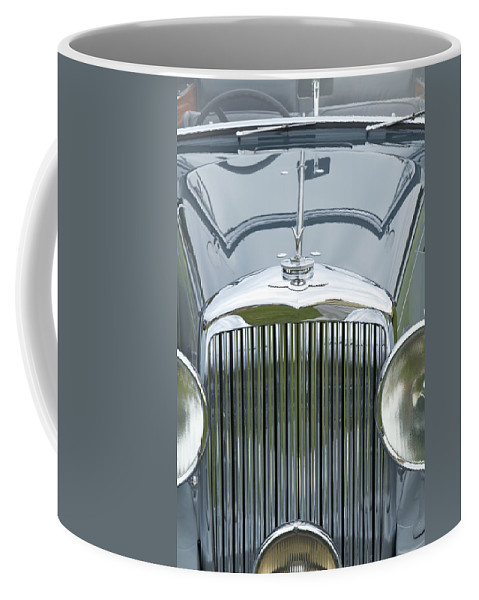 Antique Coffee Mug featuring the photograph 1938 Bentley by Jack R Perry