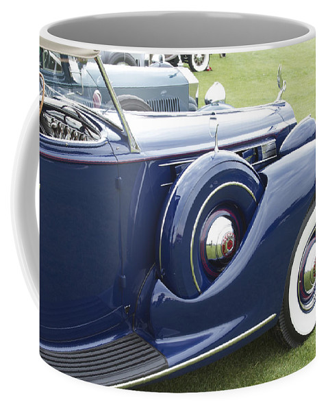 Antique Coffee Mug featuring the photograph 1938 Packard by Jack R Perry