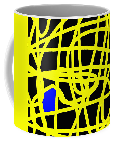 Abstract Coffee Mug featuring the painting Abstract 231 by Patrick J Murphy